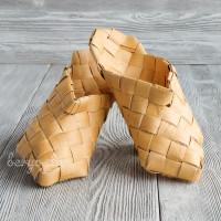 "Ступни (тапки, шлёпанцы) плетеные ""треугольные"", размеры 35-45"